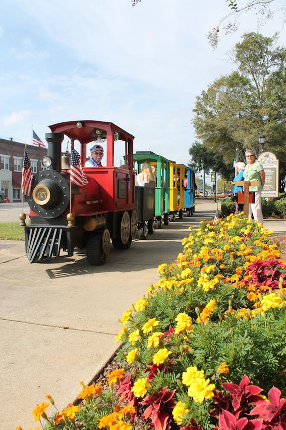 Train Ride in Foley