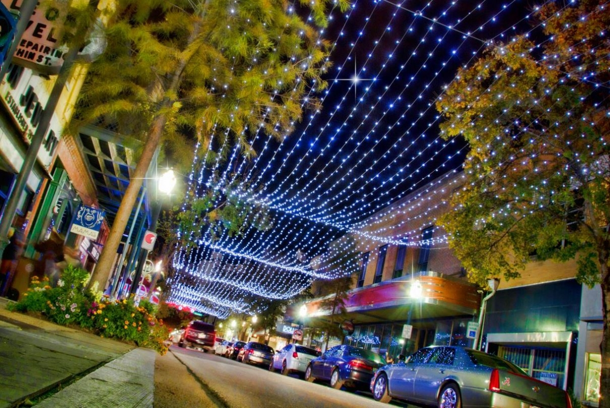 Downtown Mobile Lights