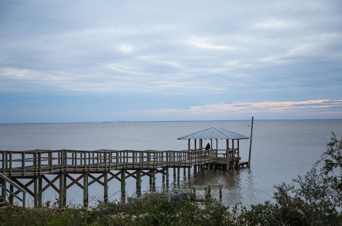 Fairhope - on the water