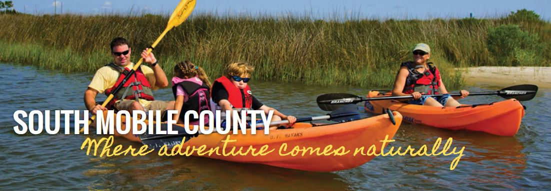 Explore by canoe in South Mobile County