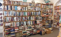 Rows and rows. Stacks and stacks. Book Exchange in Foley is a must-stop on the Bargain Hunter's Thrift Trail. Photo courtesy of Book Exchange.