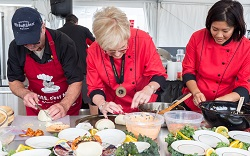 Food as sport makes us all winners at the World Food Championships.  Photo courtesy of Gulf Shores & Orange Beach Tourism.