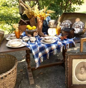 Vintage finds and contemporary treasures at Down in the Delta. Photo from vendor 116 Grace Lane.