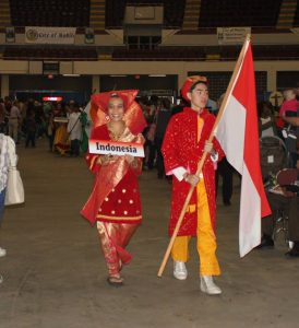 Parade of Flags brings attention to our global culture. Photo from Mobile International Festival.