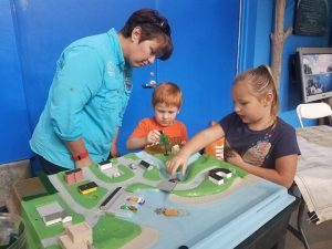 The Estuarium at the Dauphin Island Sea Lab is a place of learning and fun.