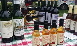 Sweet and spicy treats from Perdido Vineyards. Photo from North Baldwin Chamber of Commerce