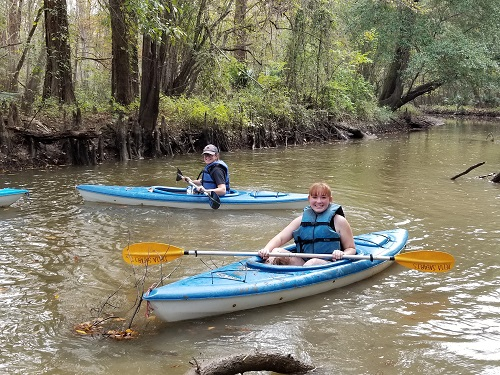 Kayaking in North Baldwin County