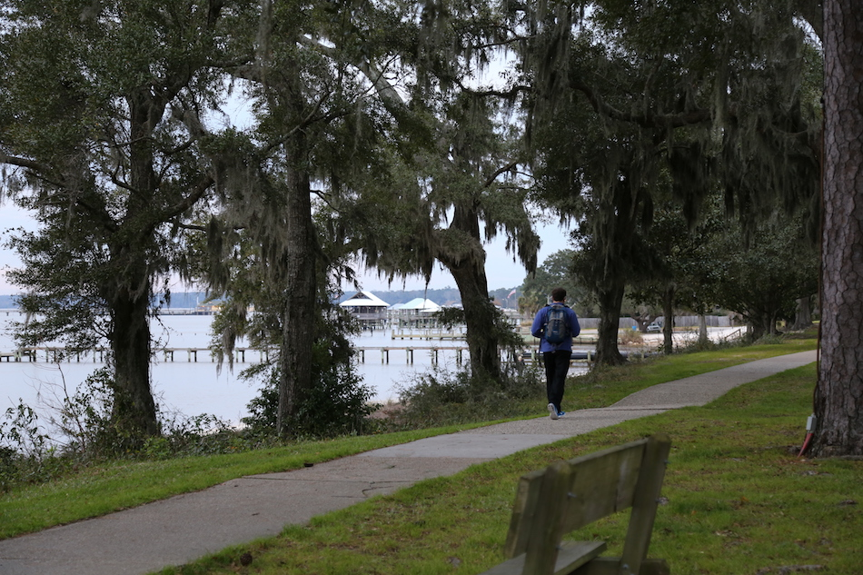 Staying active in Fairhope