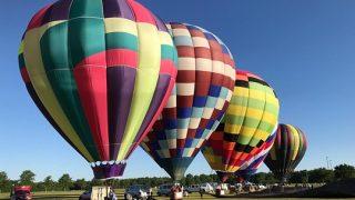 Gulf Coast Hot Air Balloon Festival in Foley